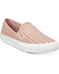 Sperry Top-Sider - Seaside Perforated Slip-on Trainers, A Macy's Exclusive Style - Lyst