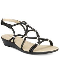 Rialto - Gillian Strappy Wedge Sandals - Lyst
