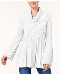 Style & Co. - Cowl-neck Sweater Tunic - Lyst