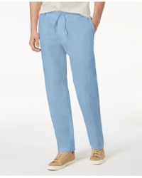 INC International Concepts - Linen Drawstring Trousers, Created For Macy's - Lyst