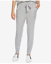 1.STATE - Cozy Ribbed Jogger Pants - Lyst