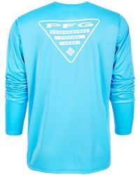623caed13b4 Columbia Super Terminal Tackle Long Sleeve Shirt in Blue for Men ...