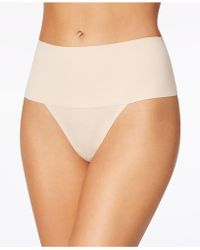Spanx | Light Control Wide-waist Thong Sp0115 | Lyst