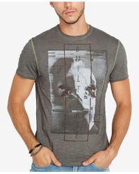 Buffalo David Bitton - Taplo Graphic T-shirt - Lyst