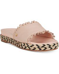 Kate Spade - Zahara Flatform Sandals - Lyst