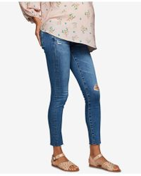 AG Jeans - Maternity Skinny Jeans - Lyst
