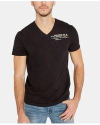 Buffalo David Bitton - Tarip Graphic T-shirt - Lyst
