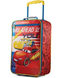 """American Tourister - Disney Cars 18"""" Softside Rolling Suitcase By - Lyst"""