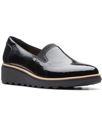 Clarks - Sharon Dolly Platform Loafers - Lyst