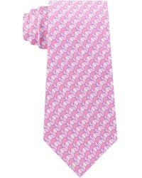 Michael Kors - Classic Geometric Silk Tie - Lyst