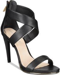 Kenneth Cole - Brooke Cross Sandals - Lyst
