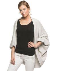 Yala Designs - Yala Callista Dolman Sleeve Organic Cotton And Viscose From Bamboo Cocoon Wrap - Lyst