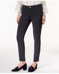 Charter Club - Windham Rope-print Stretch Pants, Created For Macy's - Lyst