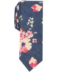 Original Penguin - Daffodil Floral Skinny Tie - Lyst