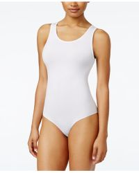 Lyst - DKNY Firm Control All-in-one Mesh-cups Bodysuit Dk2023 in Natural 2d5fdbacd