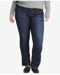Silver Jeans Co. - Plus Size Suki Curvy-fit Boot-cut Jeans - Lyst