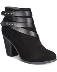 Material Girl - Mini Ankle Booties, Created For Macy's - Lyst