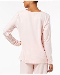 Hue - ® Super Soft Pajama Long Sleeve Top - Lyst