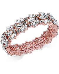 Charter Club - Crystal Stone Stretch Bracelet - Lyst