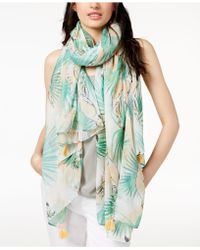 Echo - Birds Of Paradise Scarf & Cover-up - Lyst