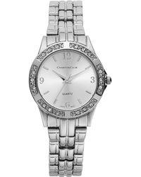Charter Club - Women's Silver-tone Bracelet 40mm - Lyst