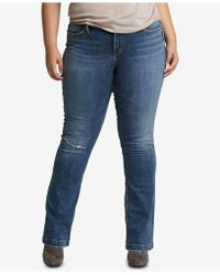 Silver Jeans Co. - Elyse Slim Jeans - Lyst
