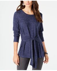 Style & Co. - Tie-front Tunic, Created For Macy's - Lyst