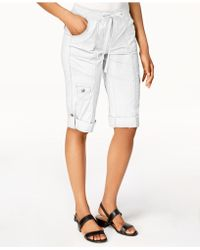 Style & Co. - Drawstring Cargo Shorts, Created For Macy's - Lyst
