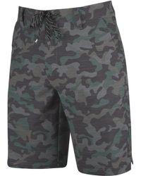 "Rip Curl - Mirage Patterned 20"" Boardwalk Shorts - Lyst"