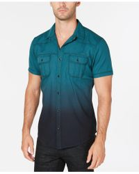 INC International Concepts - Dip Dyed Shirt, Created For Macy's - Lyst