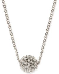 Givenchy - Silver-tone Fireball Necklace - Lyst