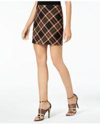 Trina Turk - Rico Plaid Skirt - Lyst