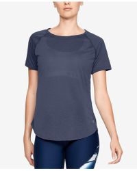 Under Armour - Whisperlight Strappy-back T-shirt - Lyst