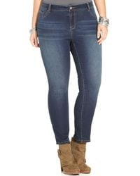 American Rag - Plus Size Skinny Lena Wash Jeans, Only At Macy's - Lyst