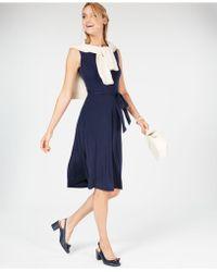 Charter Club - Tie-waist Midi Dress, Created For Macy's - Lyst