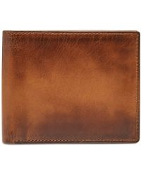 Fossil - Men's Paul Rfid-blocking Leather Ombré Bifold Wallet - Lyst