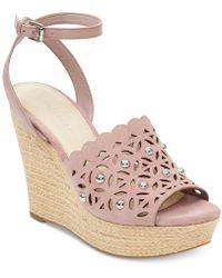 Marc Fisher - Hata Platform Wedge Sandals - Lyst