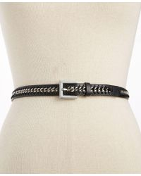 Style & Co. - Skinny Chain Inlay Belt - Lyst