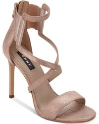 DKNY - Lil Dress Sandals, Created For Macy's - Lyst