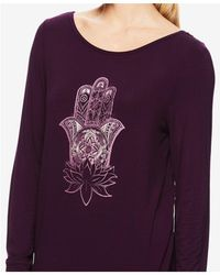 Gaiam - Hailey Graphic Long-sleeve T-shirt - Lyst
