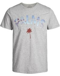 Jack & Jones - Originals Palms Crew Neck Tee - Lyst