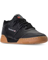 8fceda02755 Lyst - Reebok Men s Classic Leather 2.0 Casual Sneakers From Finish ...
