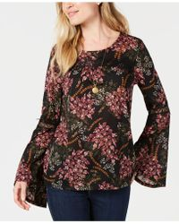 Style & Co. - Printed Tunic Top, Created For Macy's - Lyst