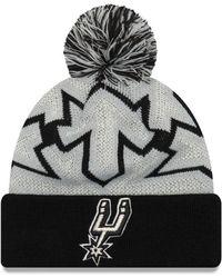 quality design 481f9 7546b KTZ - San Antonio Spurs Glowflake Cuff Knit Hat - Lyst