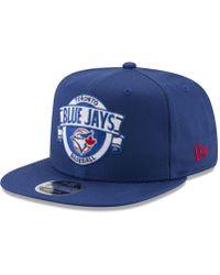 the best attitude 7983e b9d87 KTZ Toronto Maple Leafs Grader 9fifty Snapback Cap in Black for Men - Lyst