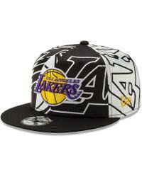 timeless design bdd44 f3bf6 KTZ Kids  Kobe Bryant Los Angeles Lakers Player 9Fifty Snapback Cap for Men  - Lyst