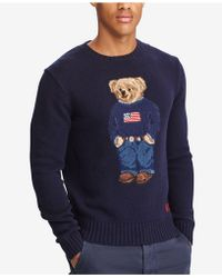 Polo Ralph Lauren - Men's Iconic Polo Bear Sweater - Lyst