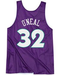 Mitchell & Ness - Shaquille O'neal Nba All Star 1995 Reversible Tank - Lyst