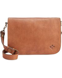 Patricia Nash - Vito Smooth Leather Flap Crossbody - Lyst