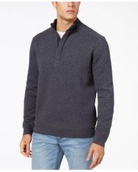 Tommy Bahama - Men's Quiltessential Half-zip Pullover - Lyst